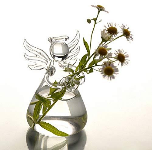 Price comparison product image Vase Plant - Sell Mini Angel Flower Hanging Glass Vase Planter Plants Tank Terrarium Bottle - Stand Decor Square Large Fillers Pot Tall Er Black Lights