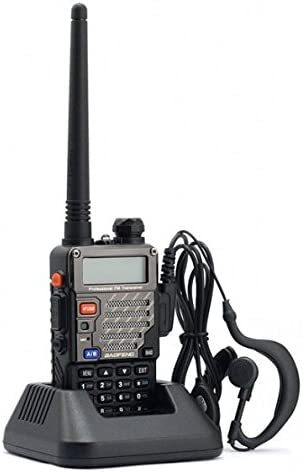 BAOFENG UV-5RE Dual Band Amateur Handheld Two Way Radio UHF VHF 136-174 400-480Mhz 128 Channels Upgrade Enhanced Version FM Ham walkie Talkie Transceiver with Earpiece