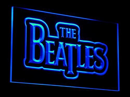 (The Beatles Band Music Bar LED Neon Sign Man Cave C012-B)