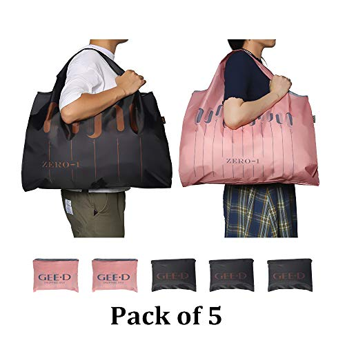 GEE%C2%B7D Foldable Reusable Shopping Washable