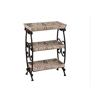 Amazon.com: Vintage Storage Shelves With A Touch Of Modern Contemporary  Décor Ideal For Living Room, Dining Room/kitchen. Use This Contemporary  Furniture ...