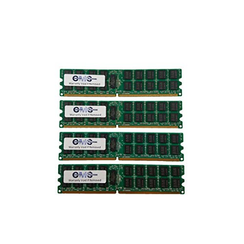 64GB (4X16GB) Memory RAM Compatible with Dell PowerEdge R430, PowerEdge R530, PowerEdge T430 For Servers Only BY CMS B102 ()