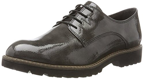 23214 Mujer para Oxford Anthracite Pat Zapatos Tamaris Gris P4dqwpPx