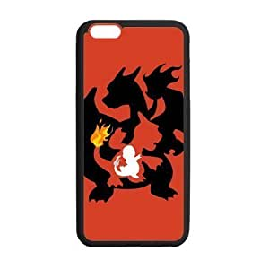 HipsterOne Custom Charmander Charmeleon Charizard Pokemon Case for iPhone 6 Plus (5.5 inch; Laser Technology)
