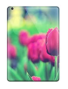 High Quality Shock Absorbing Case For Ipad Air-tulips Garden