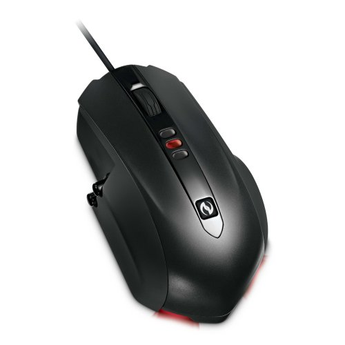 Microsoft Sidewinder X5 9-Button USB Gaming Laser Scroll Mouse w/Up to 2000 DPI, 3 DPI Settings & Macro Support
