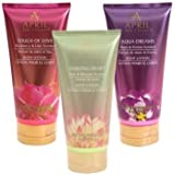 April Bath & Shower Scented Body Lotion Gift Set (3pcs: Skin Love)