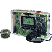 Sangean Dt-110C Amfm Pocket Radio Clear
