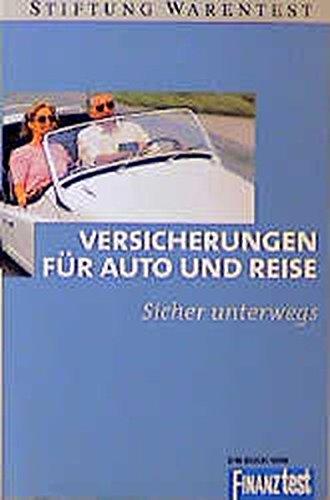 Econ Taschenbücher, Versicherungen für Auto und Reise (Ein Buch von FINANZtest)