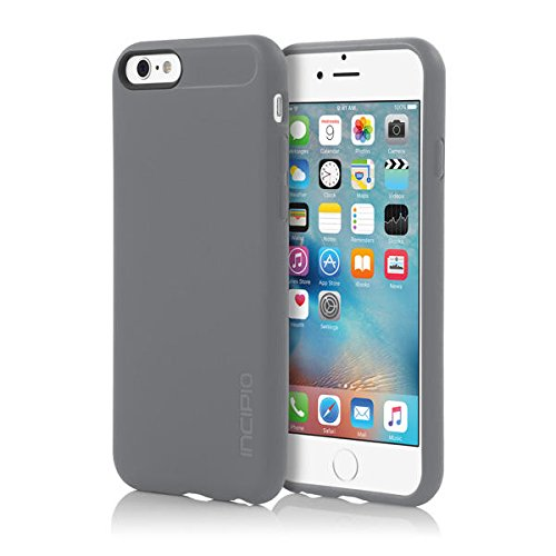 premium selection ffe7b b9c80 iPhone 6S Case, Incipio NGP Case [Flexible][Shock Absorbing] Cover fits  Both Apple iPhone 6, iPhone 6S - Gray