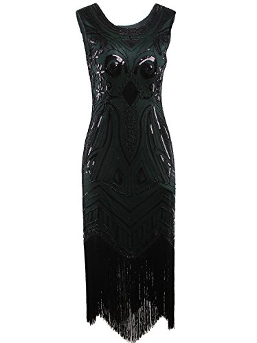 Vijiv Vintage Gatsby Nouveau Flapper