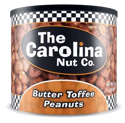 - Thorfood-Carolina Nut 11047 12OZ ButterToff Peanuts - Quantity 6