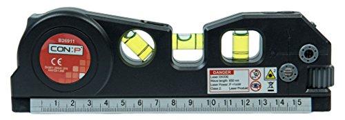 CON:P Laserwasserwaage mit Rollband, B26911