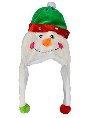 Rhode Island Novelty Plush Snowman Hat -