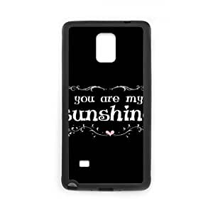 Custom For Case Samsung Galaxy S4 I9500 Cover with You are my sunshine at SHSHU XYlQ2UNMuyy