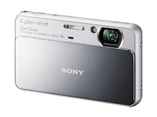 ソニー SONY デジタルカメラ Cybershot T110 1610万画素CCD 光学x4 シルバー DSC-T110/S  シルバー B004J1G22Q