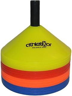 Markierungshütchen 40'er Set - blau,orange,rot,gelb von athletikor