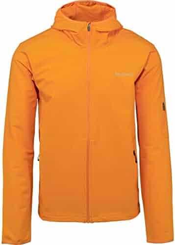 cce0373bedb Merrell Quest Full Zip Hooded Softshell Jacket Men XS Russet Orange