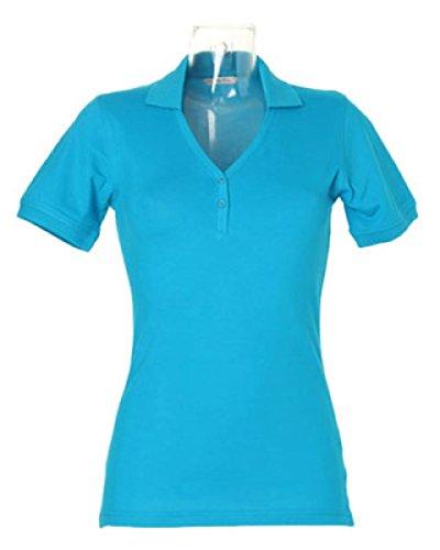 Scollo Kit Polo V Donna Kustom Turquoise 4xE0wYYq