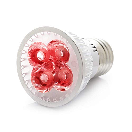 - RubyLux 2nd Generation All Red LED Bulb Size Small