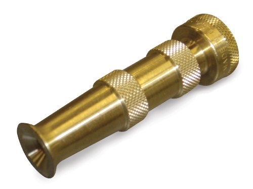 Dramm 12380 Heavy-Duty Brass Adjustable Hose Nozzle (Fan Nozzle Dramm)
