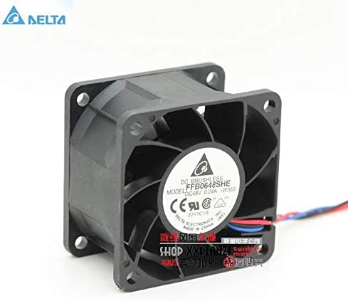 Original for delta FFB0648SHE 6038 6cm 48V 0.24 dual ball bearing cooling fan