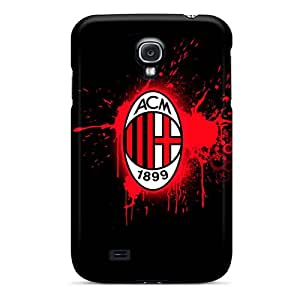 Perfect Hard Cell-phone Cases For Samsung Galaxy S4 (plu20144bQeN) Allow Personal Design Colorful Ac Milan 2 Series