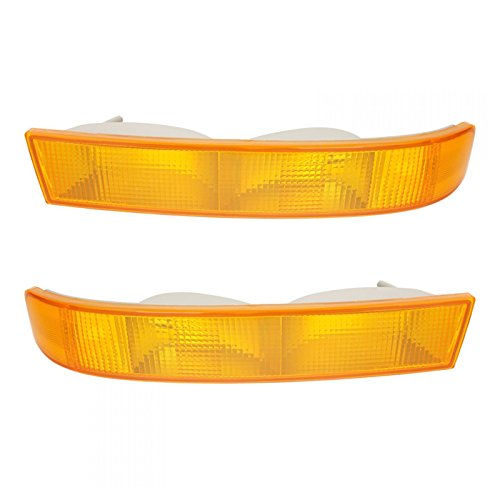 Parking Light Turn Signal Directional Lamp Pair Set Kit for 03-13 Chevy GMC ()