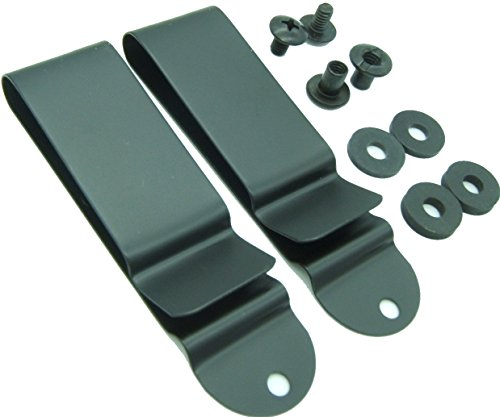 Quick Clip Pro Holster Clips, Black Oxide Steel for 1.75
