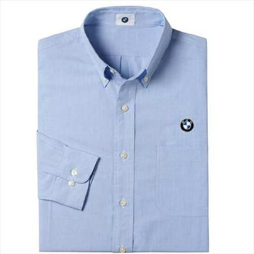 Genuine bmw men 39 s oxford dress shirt size extra large for Mens oxford dress shirts