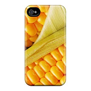 (KpWXKTgW944)durable Protection Case Cover For Iphone 4/4s(it's Corn)