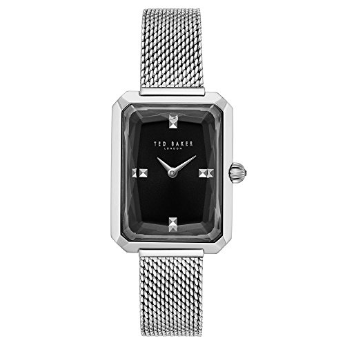 Ted Baker Women's CARA Quartz Watch with Stainless-Steel Strap, Silver, 10 (Model: ()