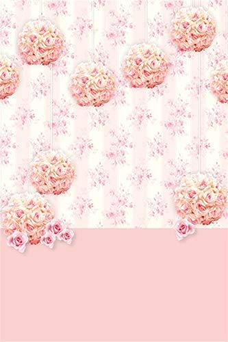- AOFOTO 5x7ft Pink Rose Flowers Bouquet Background Floral Pattern Wall Baby Newborn Portrait Photo Shoot Backdrop Girls' Events Wedding Bridal Shower Tea Party Decorations Photo Studio Props Vinyl
