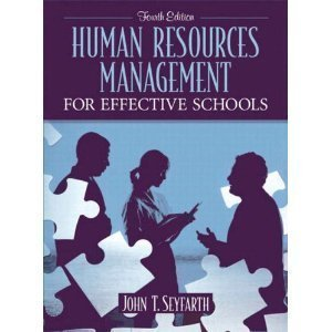 Download Human Resources Management for Effective Schools _ 4th edition. pdf epub