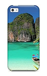Anti-scratch And Shatterproof Thailand Holidays Beach Phone Case For Iphone 5c/ High Quality Tpu Case