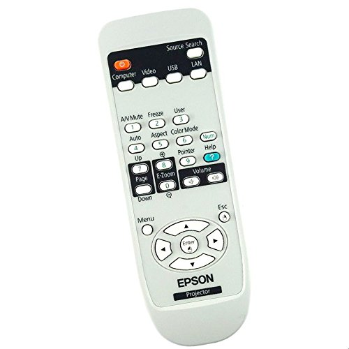 New Epson Projector Remote Control Originally Shipped With PowerLite 92, PowerLite 93, PowerLite 93+, PowerLite 95
