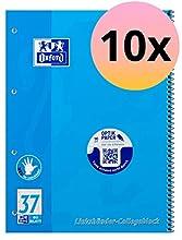 Oxford 100050404 - Cuaderno de anillas (A4, 10 unidades), azul