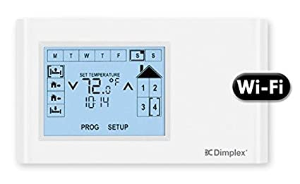 Dimplex CX-WIFI CONNEX WI-FI MULTI-ZONE PROGRAMMABLE CONTROLLER, WHITE
