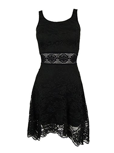 American Rag Women's Sleeveless Handkerchief Hem Dress (XXS, Classic (American Rag Sleeveless)