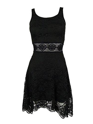American Rag Women's Sleeveless Handkerchief Hem Dress (XXS, Classic (American Rag Sleeveless)