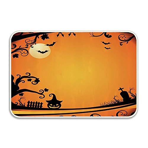 Halloween Themed Image Eerie Atmosphere Gravestone Evil Pumpkin