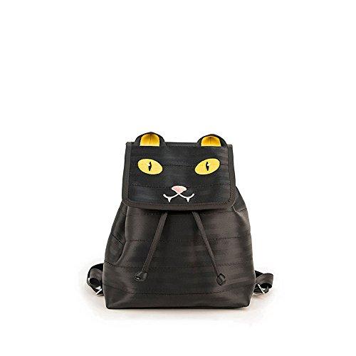 Harveys Seatbelt Bag Women's Backpack Black Cat One Size by Harvey's
