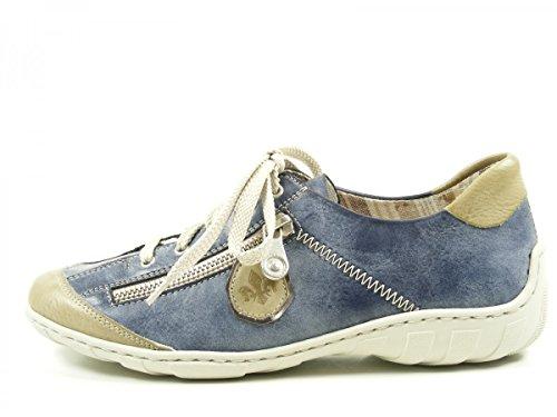 Rieker - Botas para mujer Blau
