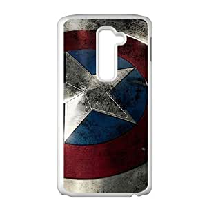 WAGT Captain America Cell Phone Case for LG G2