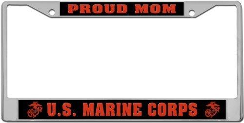 Compare Price: marine mom license plate frame - on StatementsLtd.com