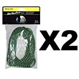 Nite Ize Reflective Rope Pack 50' Safety Tent Cord for Hiking Boating (2-Pack)