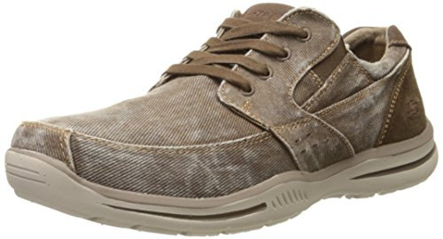 Skechers Usa Gewählt Fultone Lace-up Oxford Sneaker Cocoa