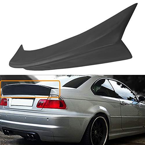 FidgetKute for BMW E46 M3 Coupe 1999-2005 Style Rear Trunk Spoiler Ducktail Wing Lip