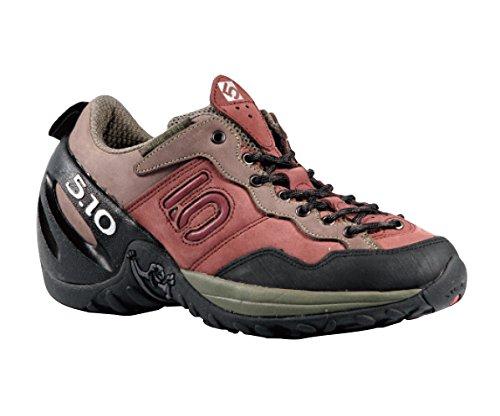 huge discount 02823 909bc Five Ten Camp Four Donna Rosso Camoscio Scarpe Trekking 37 EU Nuovo  Amazon.it Scarpe e borse