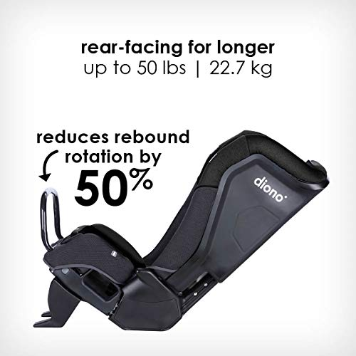 41 wRjCZHZL - Diono Radian 3QX 4-in-1 Rear & Forward Facing Convertible Car Seat | Safe+ Engineering 3 Stage Infant Protection, 10 Years 1 Car Seat, Ultimate Protection | Slim Design - Fits 3 Across, Jet Black